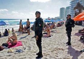 En Cancún se libra una guerra por el mercado de drogas. AFP