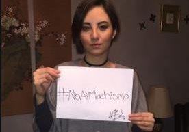 Campaña se suma al rechazo a la violencia de género