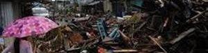 Destrucción luego del paso del tirón Haiyan.