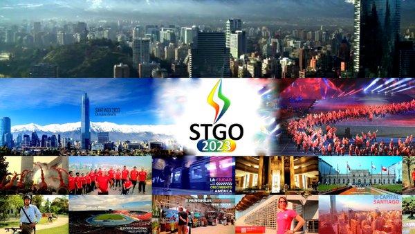 La ciudad de Santiago de Chile es una de las candidatas para organizar los XIX Juegos Panamericanos en 2023. (Foto Prensa Libre: Hemeroteca PL)