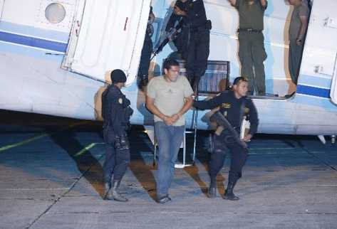 Un grupo de capturados en Ixcán, Quiché, vinculados con los Zetas llega a la capital.