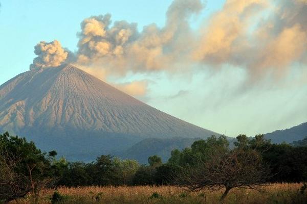 <p>Vista del volcán San Cristobal ubicado en Chinandega, Nicaragua.</p>