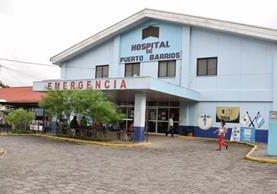 Hospital de Puerto Barrios, Izabal, donde se registra la escasez de medicamentos. (Foto Prensa Libre: Dony Stewart)