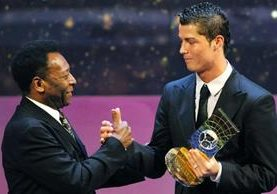 Pele reconoce la marca goleadora del portugués Cristiano Ronaldo con la Selección de Portugal. (Foto Redes).