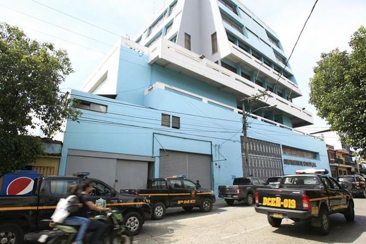 Corporación de Noticias, S. A. está ubicada en la zona 1 capitalina. (Foto Prensa Libre: Carlos Hernández)