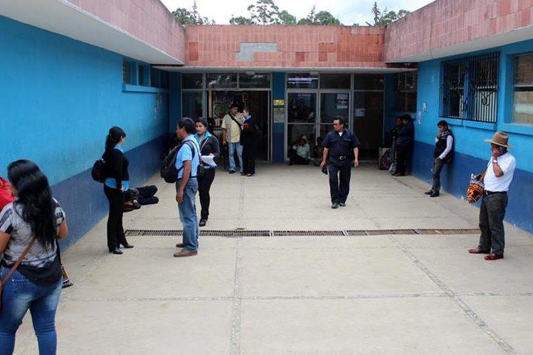 Cuidado intensivo del Hospital Regional de Santa Cruz del Quiché. (Foto Prensa Libre: Óscar Figueroa)