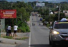 El pelotón recorrió 118.3 kms entre Jutiapa -San José Pinula