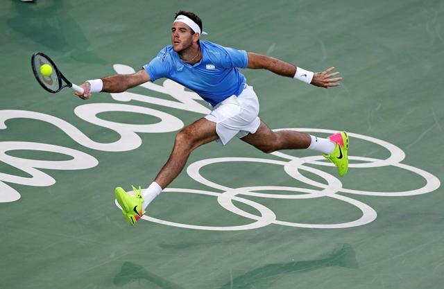 Del Potro es el mejor tenista de Argentina. (Foto Prensa Libre: AP)