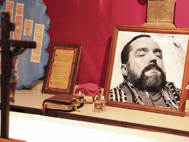 La habitación y algunas de  las pertenencias de Rother son resguardadas en en la parroquia de Santiago Atitlán. (Foto Cortesía Carlos Damián)