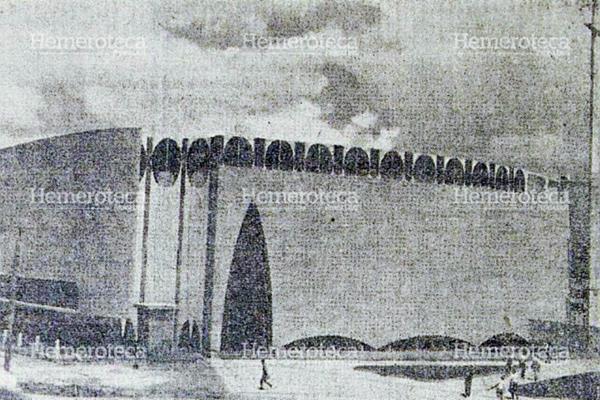 Vista del Santuario antes de ser inaugurado en 1963. (Foto Prensa Libre: Hemeroteca)
