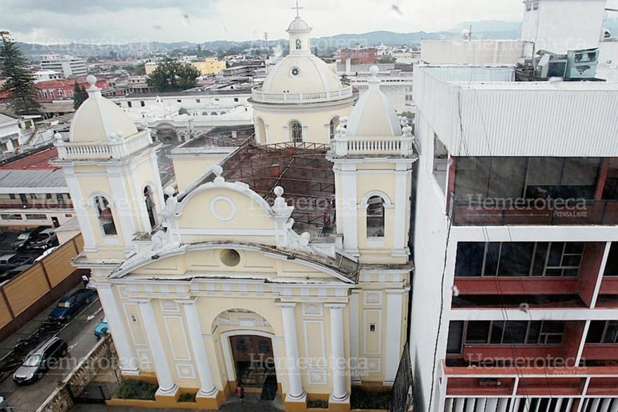El Templo de Nuestra Señora del Carmen tiene 201 años de haberse fundado. (Foto: Edwin Castro)