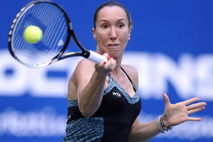 La serbia Jelena Jankovic disputará la final en China. (Foto Prensa Libre:AFP)