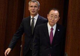 El secretario general de la ONU, Ban Ki-Moon. (Foto Prensa Libre: AFP)