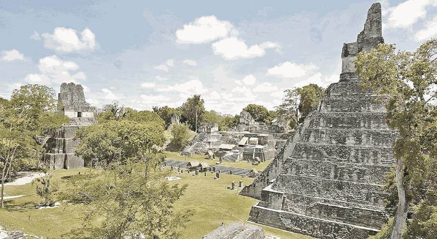 Tikal es una de las grandes ciudades mayas de Guatemala. (Foto Prensa Libre: Hemeroteca PL)
