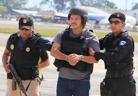 Edgar Cáceres, presunto narco fue extraditado a Estados Unidos a petición del país del norte. (Foto Prensa Libre: Hemeroteca PL)