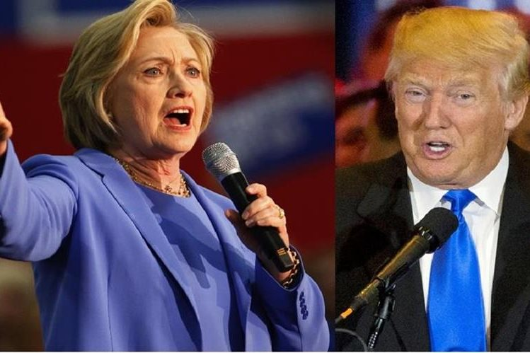Hillary Clinton recibe el 47% de los votantes contra un 41% para Donald Trump.