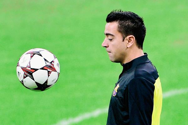 Xavi Hernández aún disputará los últimos tres juegos con el Barcelona, entre ellas las finales de la Copa del Rey y la Liga de Campeones. (Foto Prensa Libre: Hemeroteca PL)