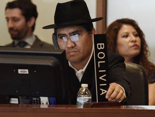 El embajador boliviano ante la OEA, Diego Pary, había suspendido la reunión. (Foto Prensa Libre: EFE)