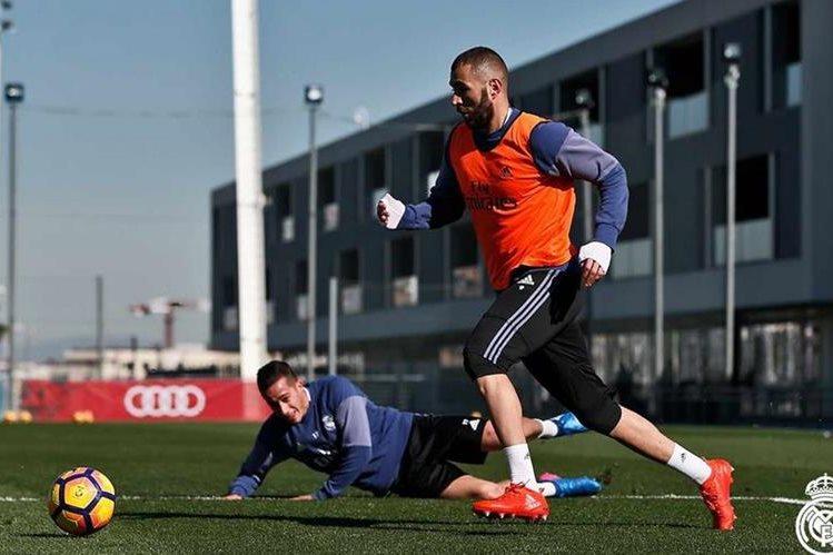 El Real Madrid, líder de la Liga, trabaja con miras al partido del miércoles contra Las Palmas. (Foto Prensa Libre: Real Madrid)