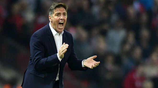 Eduardo Berizzo fue presentado como entrenador del Sevilla
