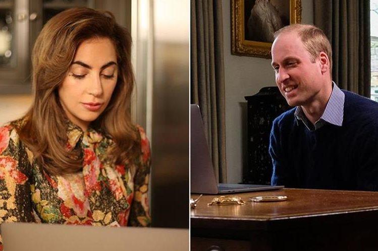 Lady Gaga y el Principe William han decidido unir voces para promover la salud mental (Foto Prensa Libre: YouTube).
