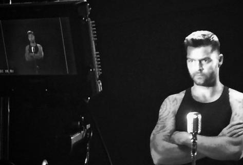 Ricky Martin trabaja en la promoción de nuevo álbum. (Foto Prensa Libre: Tomada de Instagram)