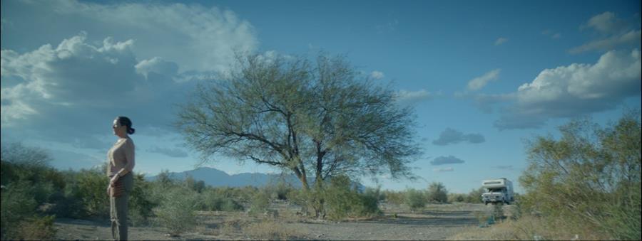 La película La novia del desierto se filmó entre noviembre y diciembre del año pasado. (Foto Prensa Libre: Cortesía Alejo Crisóstomo)