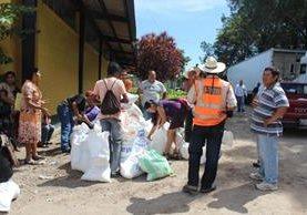 En Jutiapa, la última vez que el Gobierno entregó víveres fue hace tres meses. (Foto Prensa Libre: Óscar González)