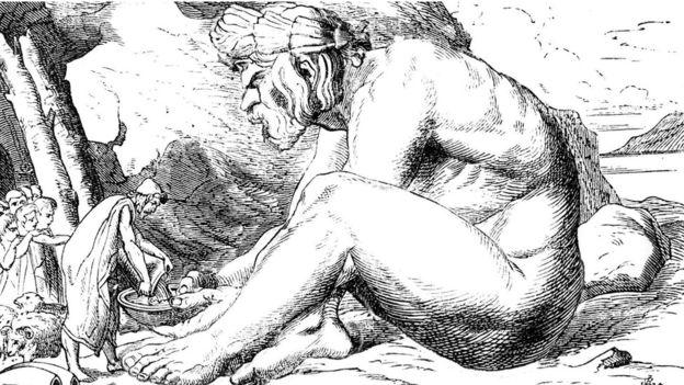 Polifemo era un gigante que comía humanos. ¿Quizás inspirado en un elefante enano? ALAMY
