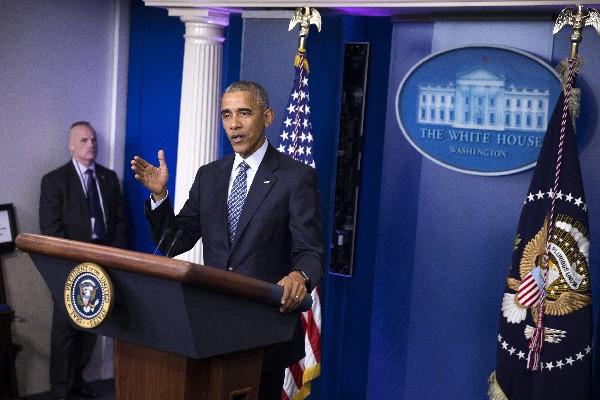 Barack Obama confesó estar preocupado por los efectos que pueda tener la Presidencia de Donald Trump. (EFE).