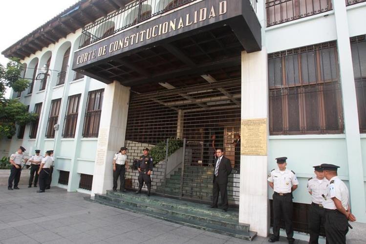 La acción de amparo fue presentada ante la CC este viernes. (Foto Prensa Libre: Hemeroteca PL)