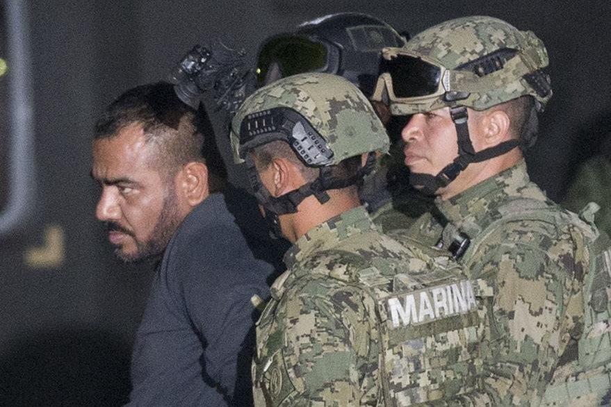 """Ivan Gastelum, sicario de """"el Chapo"""", que fue detenido junto con el poderoso capo. (AP)"""