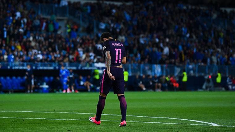 Barcelona presenta apelación por sanción de Neymar