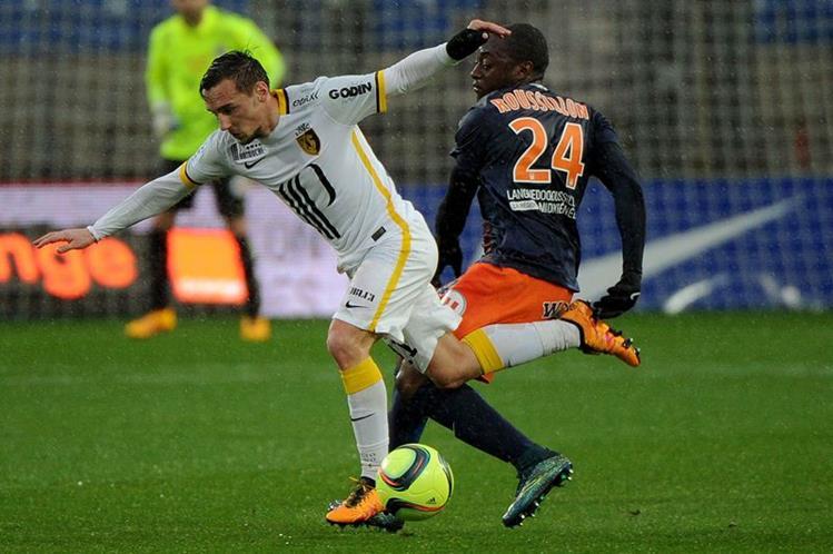 El Montpellier sacó la casta y goleó al Lille. (Foto Prensa Libre: AFP)
