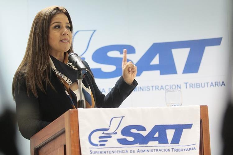Claudia Méndez Asencio, intendente de Aduanas, salió ayer en su defensa luego de la crisis en la SAT.