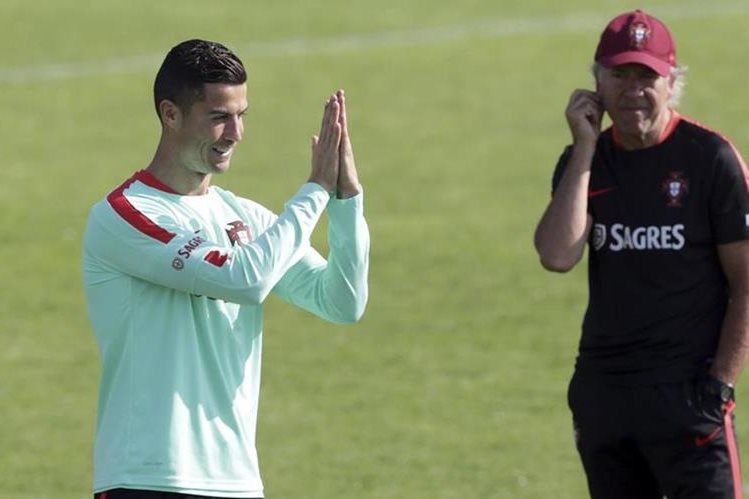 Cristiano Ronaldo confía en guiar a su selección al triunfo este martes contra Suiza.(Foto Prensa Libre: AP).