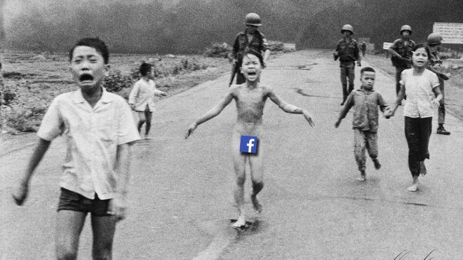 """La famosa foto Nick Ut de """"la niña de napalm"""" fue un emblema de los horrores de la guerra de Vietnam. INGE GRØDUM/AFTENPOSTEN/NICK UT"""