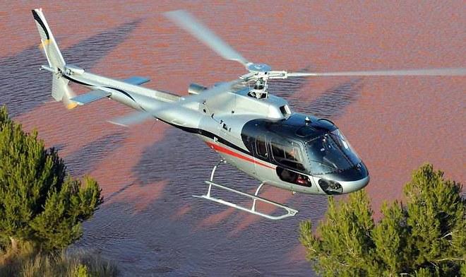 Airbus prevé ofrecer servicio de transporte con los helicópteros H125 y H130. (Foto Prensa Libre: lesechos.fr.)