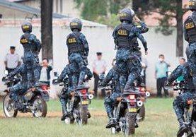 El Grupo de Reacción Inmediata Lobos, de la PNC, funciona desde octubre de 2013. (Foto Prensa Libre: Hemeroteca PL)
