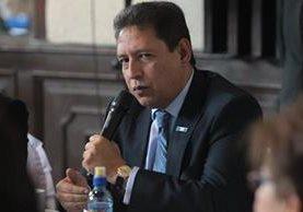 Mariano Rayo, ministro de Salud. (Foto Prensa Libre: Hemeroteca PL)