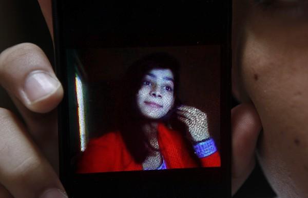 Zeenat Rafiq fue quemada viva, supuestamente por su madre.(AP).