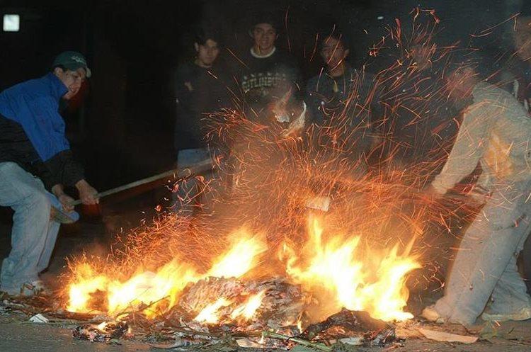 Quemar basura es perjudicial para la salud y el medioambiente. (Foto Hemeroteca PL)