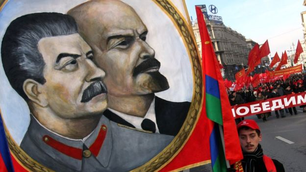 A la revolución de marzo, le seguiría la revolución de octubre y el nacimiento de la Unión Soviética. AFP