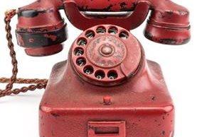 El teléfono de Hitler fue fabricado en 1940 por la casa Siemens. EPA