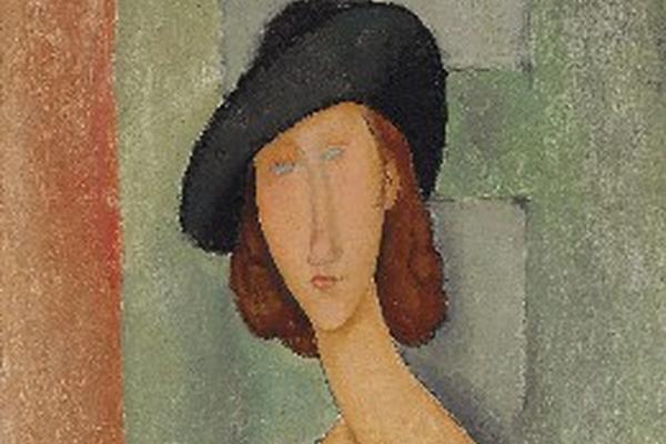 <p>Pintado por Amedeo Modigliani, de su amante y musa Jeanne Hébuterne.</p>