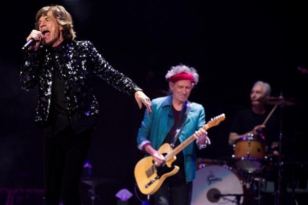<p>Rolling Stones ofrecen concierto en Nueva York</p>