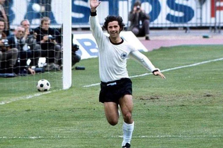El legendario Gerd Müller anotó 533 goles para el Bayern Munich y 62 con la selección de Alemania en 68 partidos. (Foto Prensa Libre: Hemeroteca)