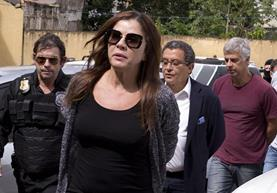 La publicista brasileña Mónica Moura señaló de ilícito a Maduro. (Foto Prensa Libre: EFE)