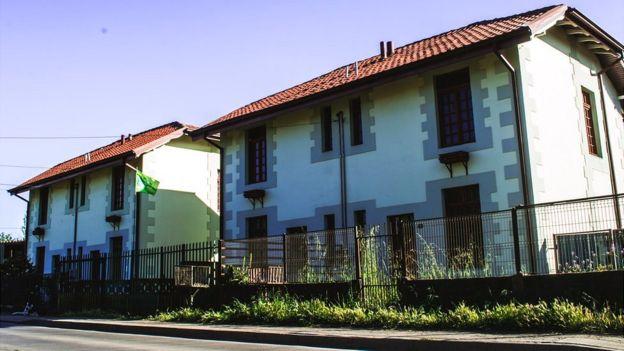 Pabellón inglés en la ciudad chilena de Coronel. FELIPE ROA PAREDES