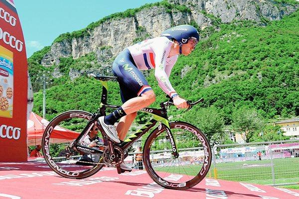 El británico Alex Dowsett intentará batir el récord de la hora, una meta que tiene desde niño. (Foto Prensa Libre: Tomada de internet)